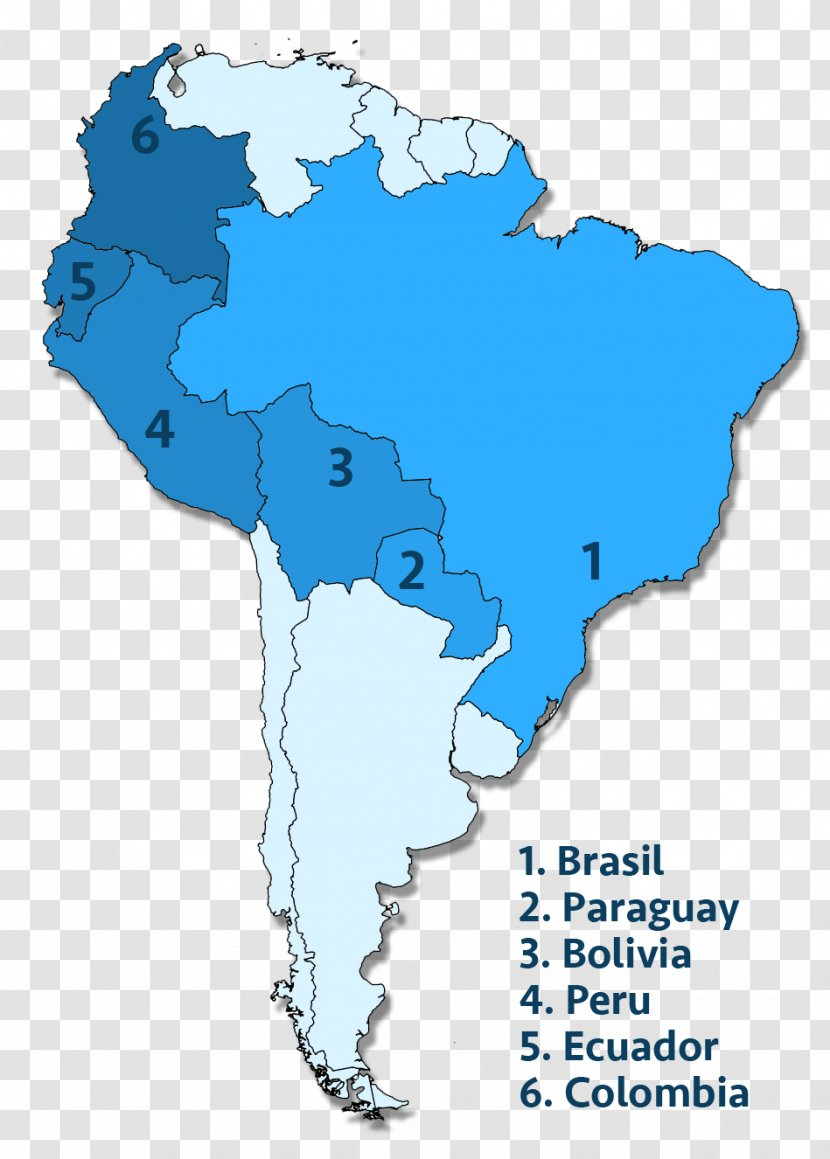 Picture of: Map South Brazil Bolivia Name Transparent Png