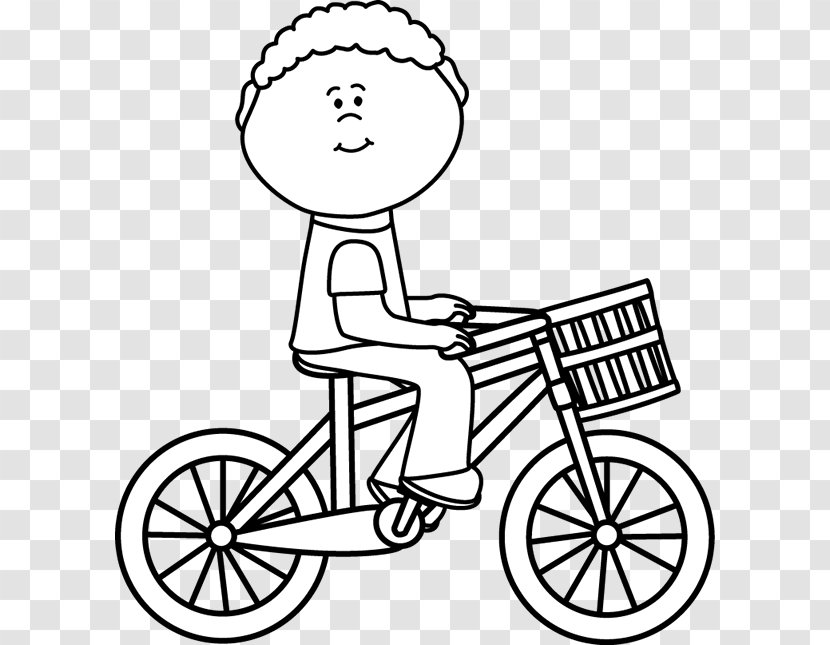 Clip Art Bicycle Cycling Image Black And White Shoe Transparent Png