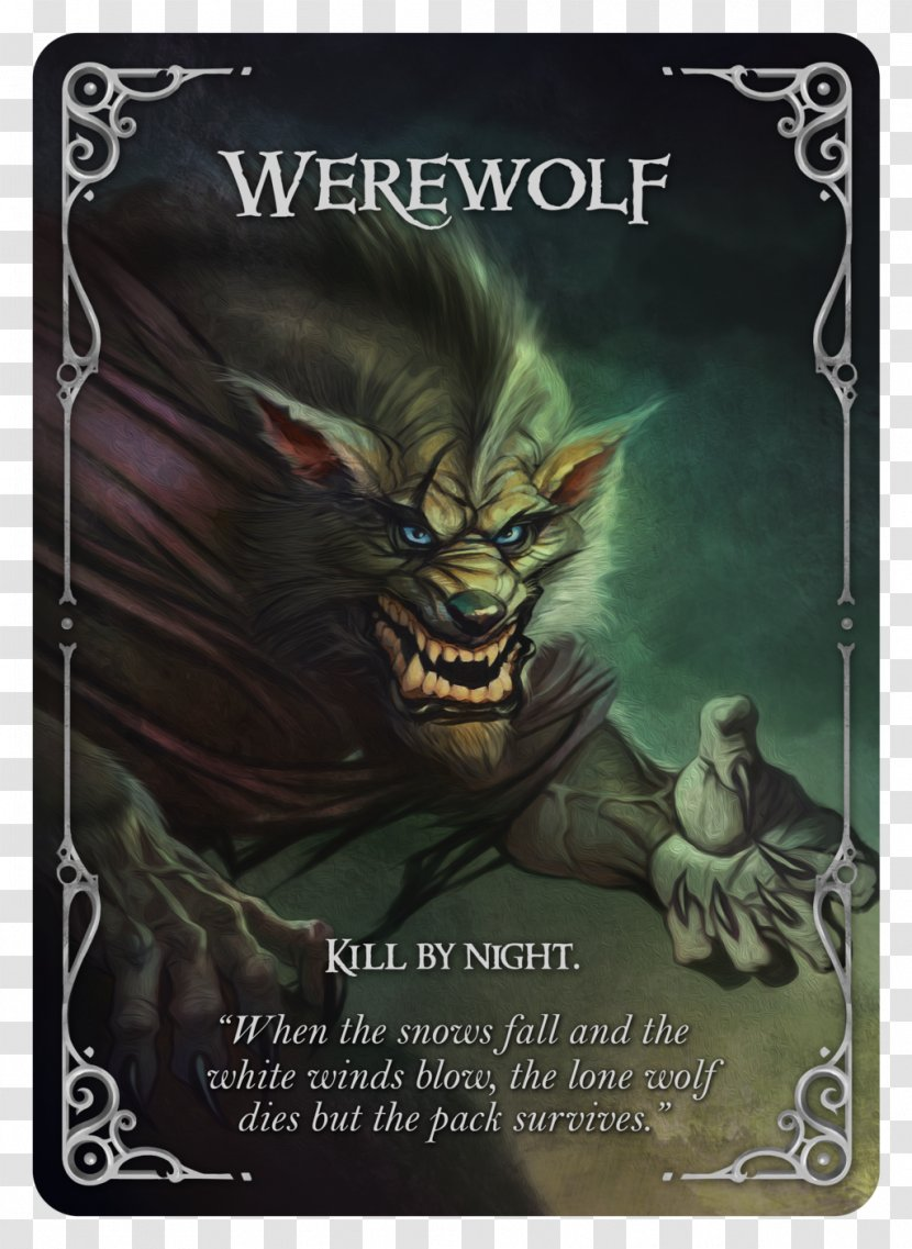Mafia Star Ocean: The Last Hope Card Game Playing - Werewolves Kill Games Transparent PNG