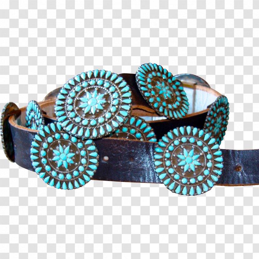 Turquoise Aqua Jewellery Teal Azure - Blue - Belt Transparent PNG