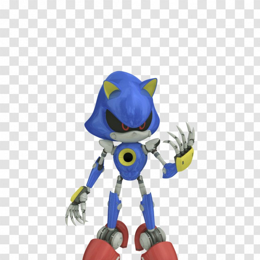 Sonic Free Riders The Hedgehog Chaos Metal Toy Rider Transparent Png
