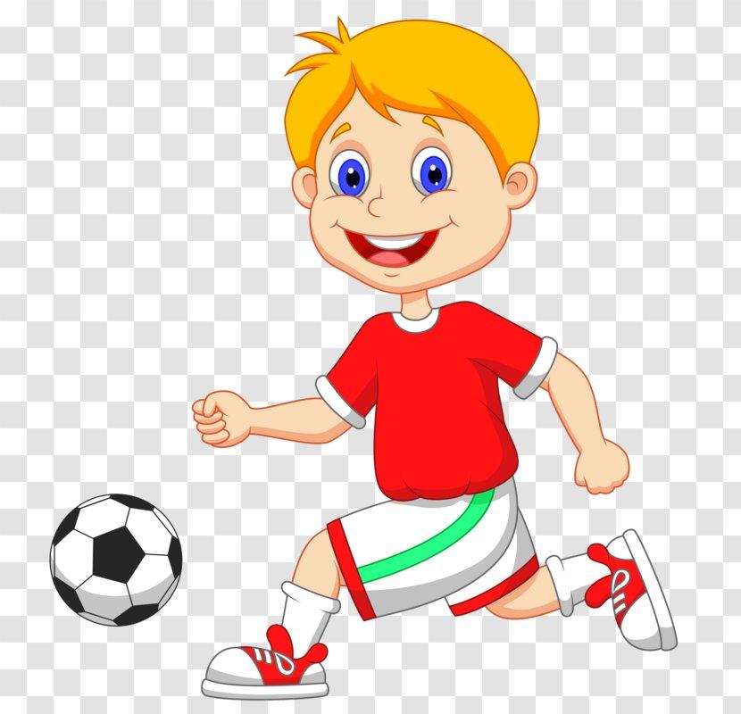 Football Player Vector Graphics Clip Art Child - Fan Accessory - Cartoon Clipart Transparent PNG