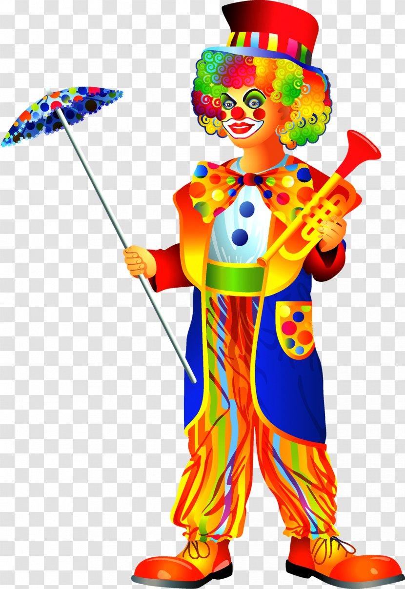 Circus Clown Clip Art Transparent PNG