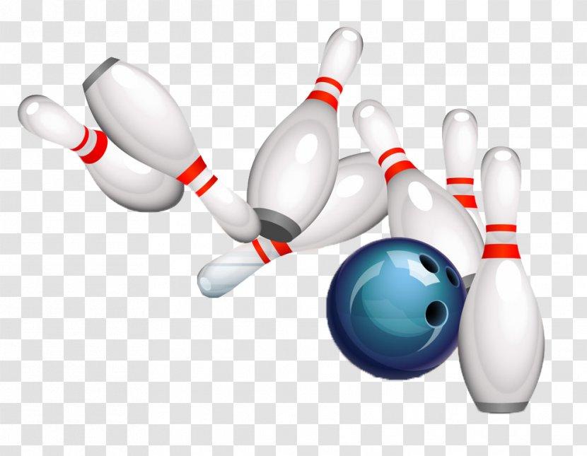 Bowling Pin Ball Ten-pin Stock Photography - Tenpin - Picture Material Transparent PNG