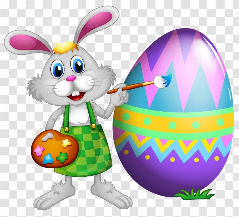Bunny Rabbit Clip Art Color Sheet