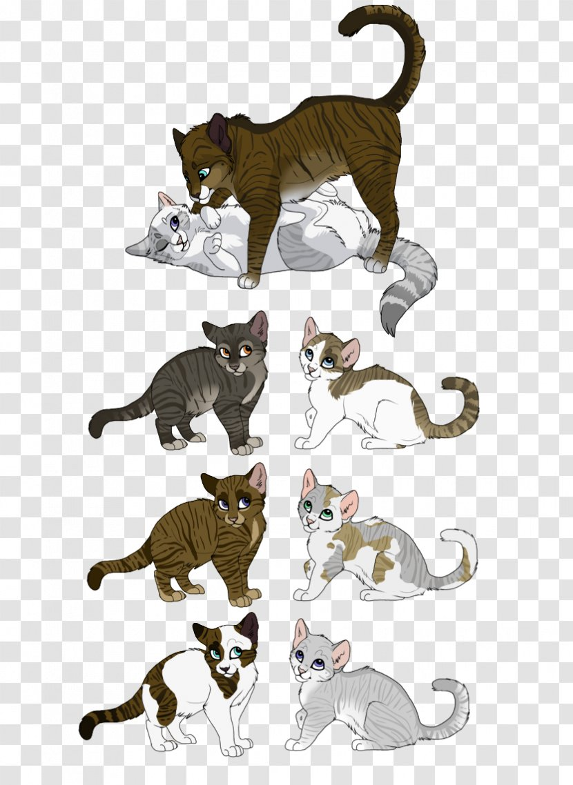 Ivypool Cat Drawing Warriors Dovewing Small To Medium Sized Cats Fighting Transparent Png