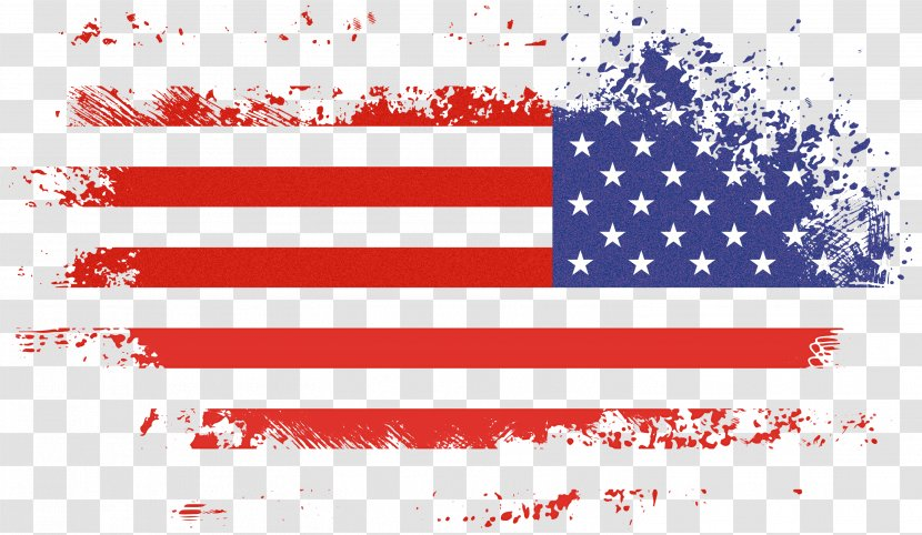 Veterans Day Usa Flag - Happy 4th Of July Transparent PNG
