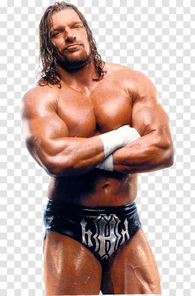 Triple H D-Generation X World Heavyweight Championship Professional Wrestler Wrestling - Silhouette Transparent PNG