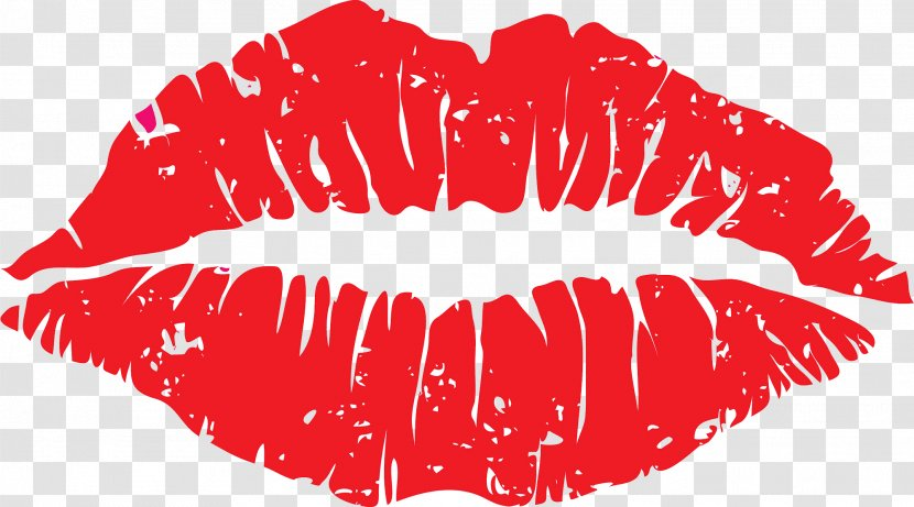 Kiss Cartoon Lip Clip Art Image Transparent Png