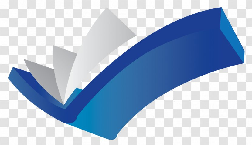 Check Mark Library Clip Art - Blue Transparent PNG