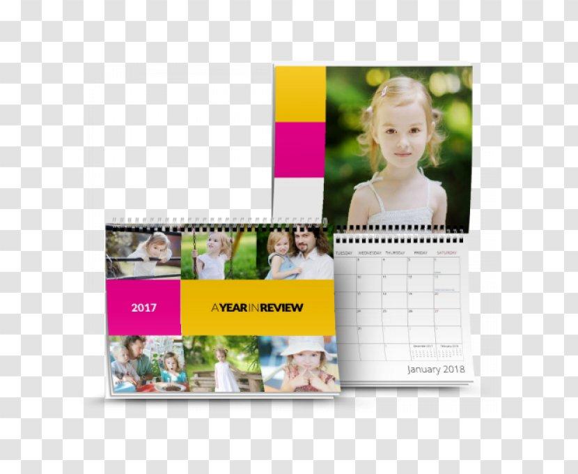 Calendar - 8.5x11 Transparent PNG
