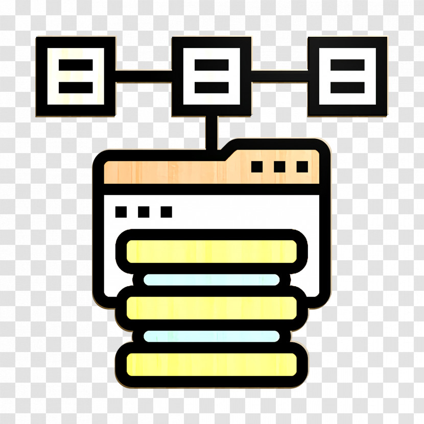 System Icon Big Data Icon Distributed Icon Transparent PNG