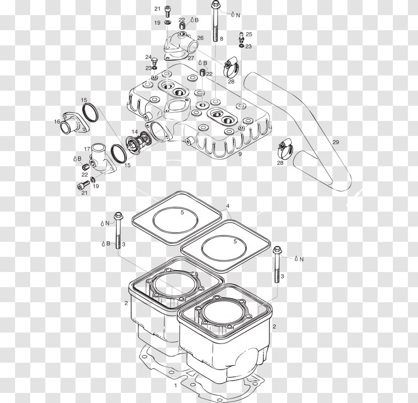 Car BRP-Rotax GmbH & Co. KG Flathead Engine Rotax 582 Wiring Diagram  Transparent PNGPNGHUT