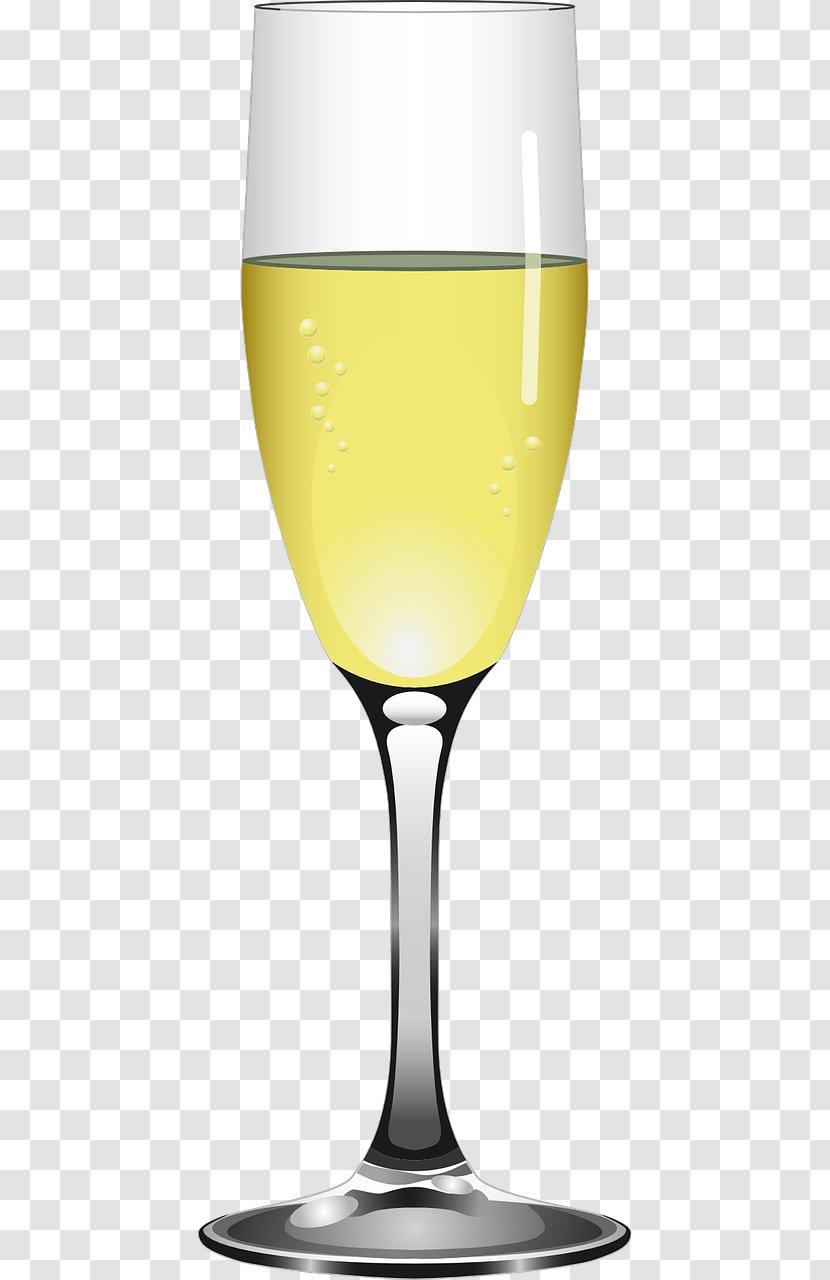 Champagne Glass Clip Art - Stemware Transparent PNG
