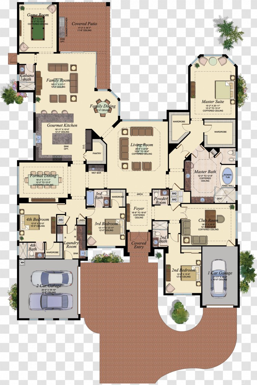 The Sims 4 3 2 House Floor Plan Real Estate Transparent Png