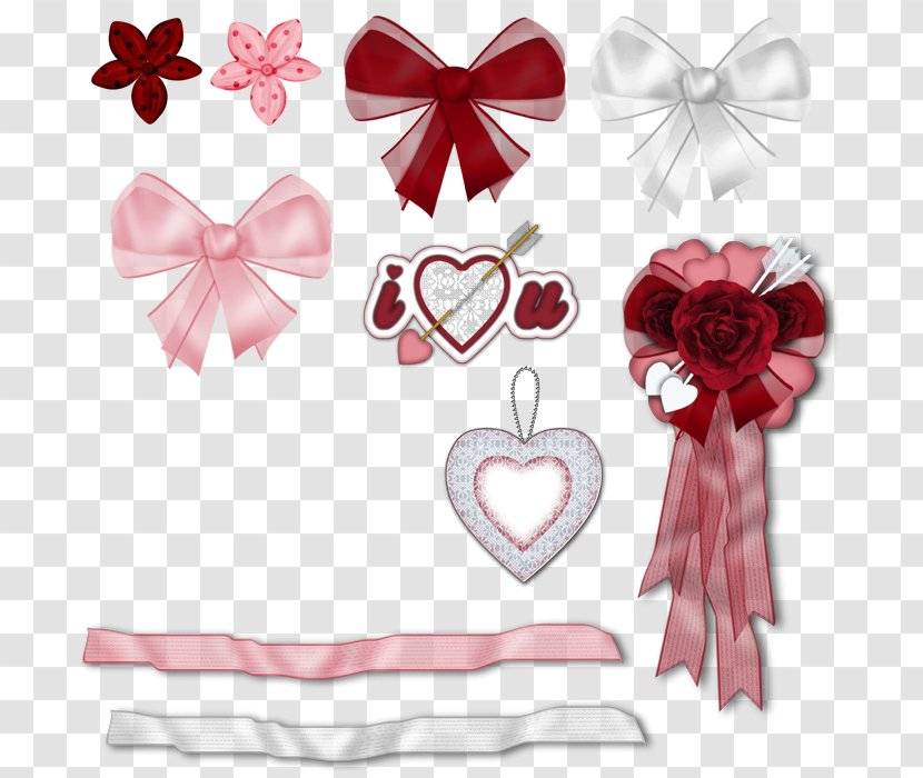 Pink Ribbon Butterfly - Hand-painted Ribbons And Bows Transparent PNG