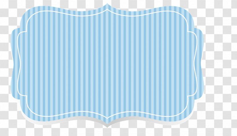 Turquoise A5 Papir Textile Cobalt Blue Electric Aqua Baby Banner Background Transparent Png
