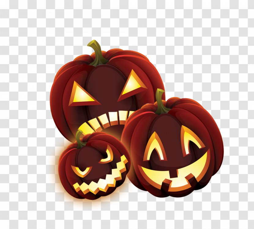 Jack-o-lantern Calabaza Halloween - Pumpkin Lantern Transparent PNG