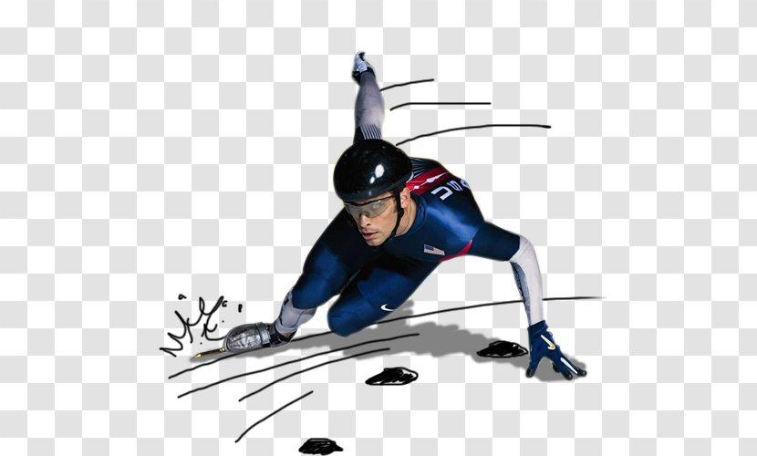Short Track Speed Skating Ice Clip Art - Vitesse Transparent PNG