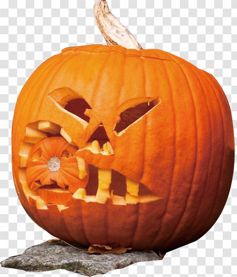 Jack-o-lantern Calabaza Paper Pumpkin Halloween - Jackolantern Transparent PNG