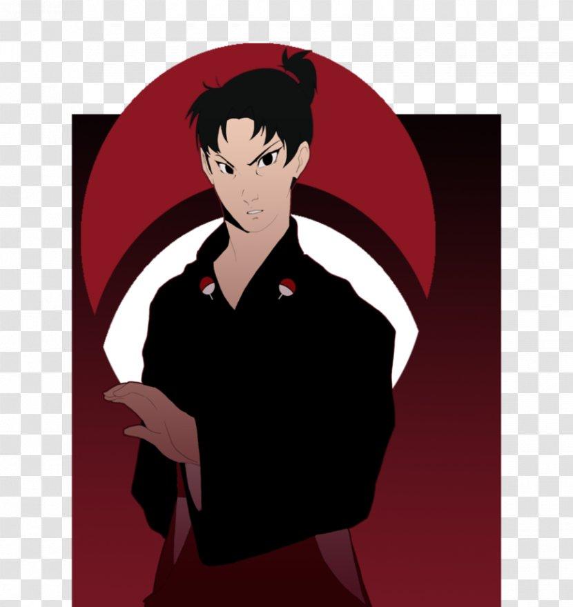 Cartoon Shoulder Black Hair Uniform - Tree - Sonja Day Transparent PNG