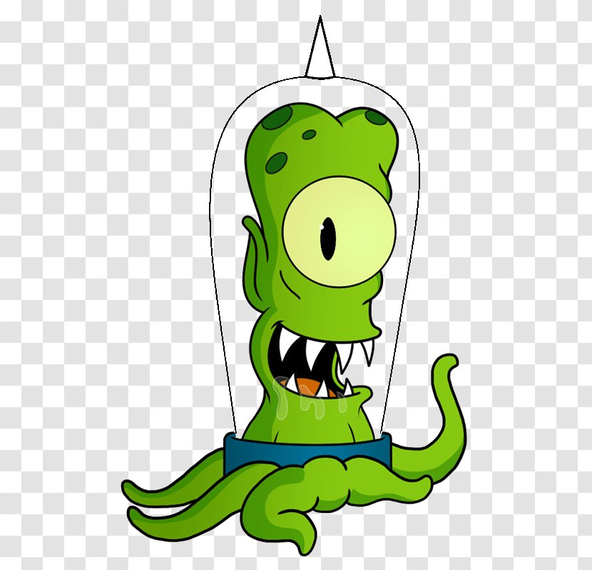 Kang And Kodos Bart Simpson The Simpsons Tapped Out Homer Lisa Green Simpsons Movie Transparent Png