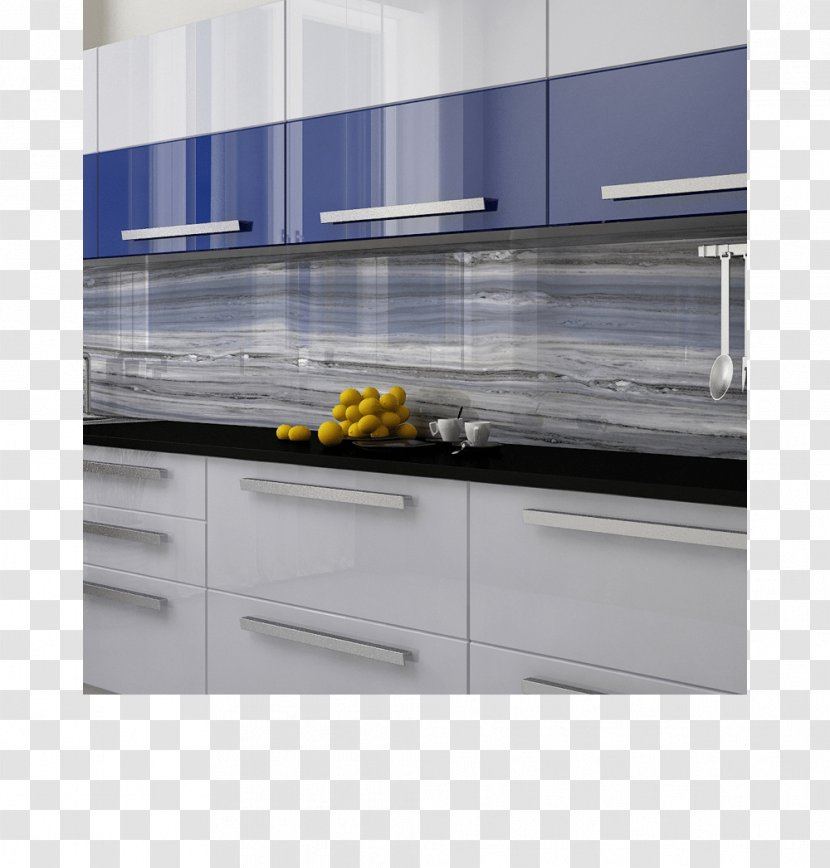 Kitchen Refrigerator Glass Tile Countertop - Cabinet - White Wall Tiles Transparent PNG