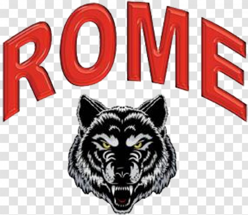 Rome High School A S Roma Logo Arkansas State Red Wolves Football Warner Robins Sport Wolf Transparent