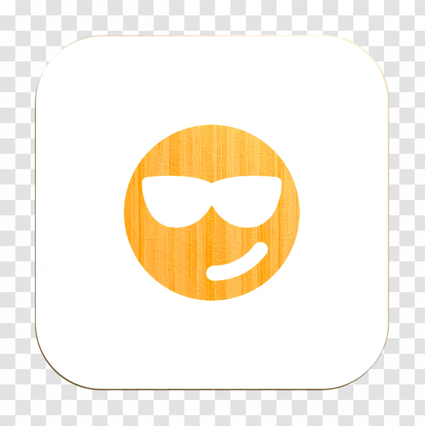 Cool Icon Smiley And People Icon Emoji Icon Transparent PNG