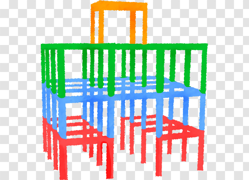 Jungle Gym Playground Slide Seesaw Swing Playground Transparent PNG