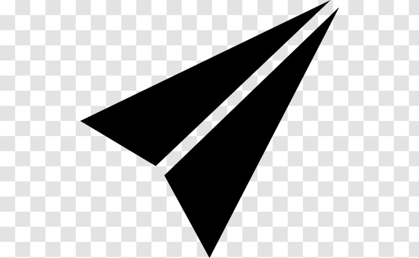 Paper Plane Airplane Icon A5 Transparent Png
