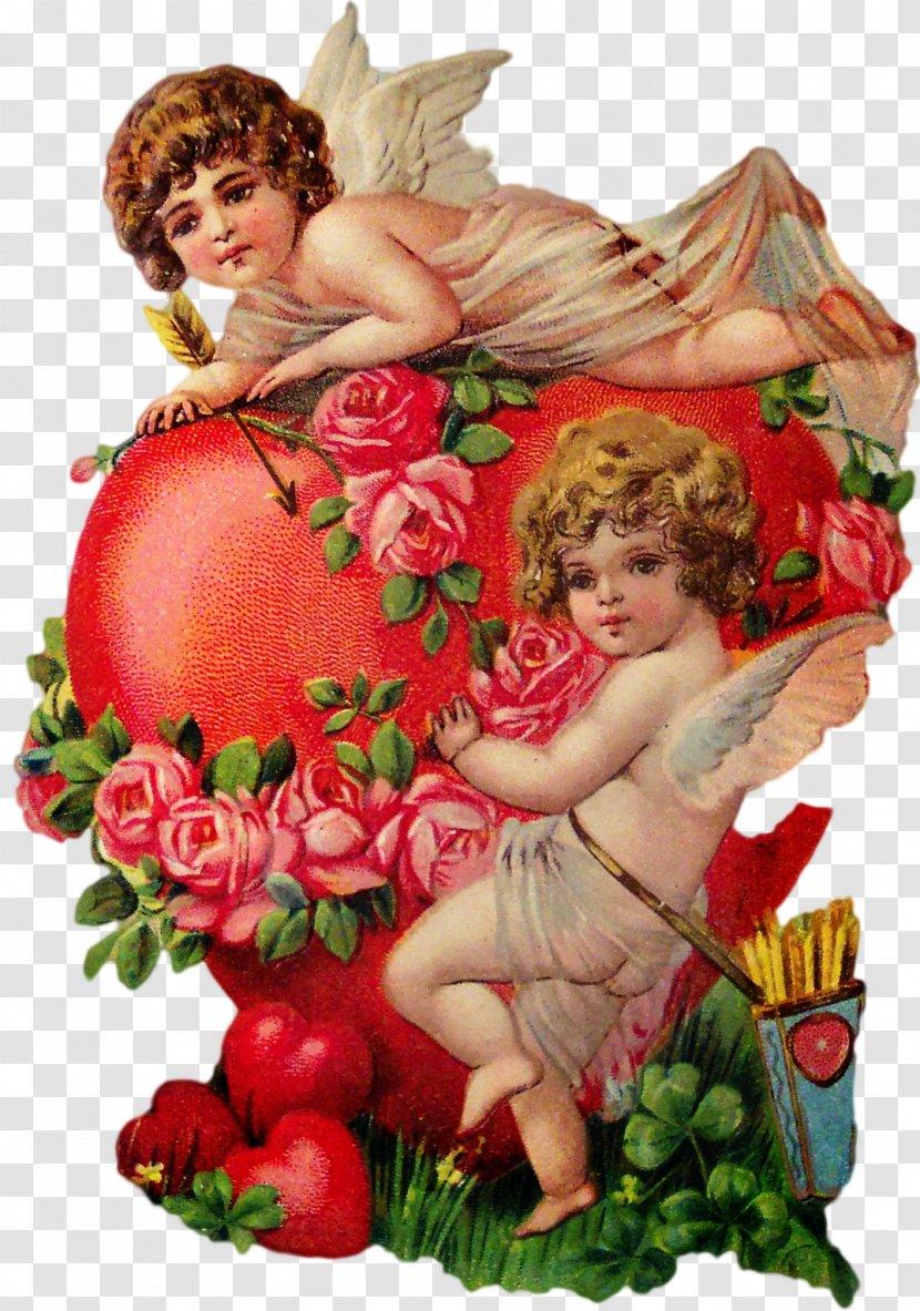 Valentine's Day Love Vinegar Valentines Cupid Greeting & Note Cards - Valentine S - Postcard Transparent PNG