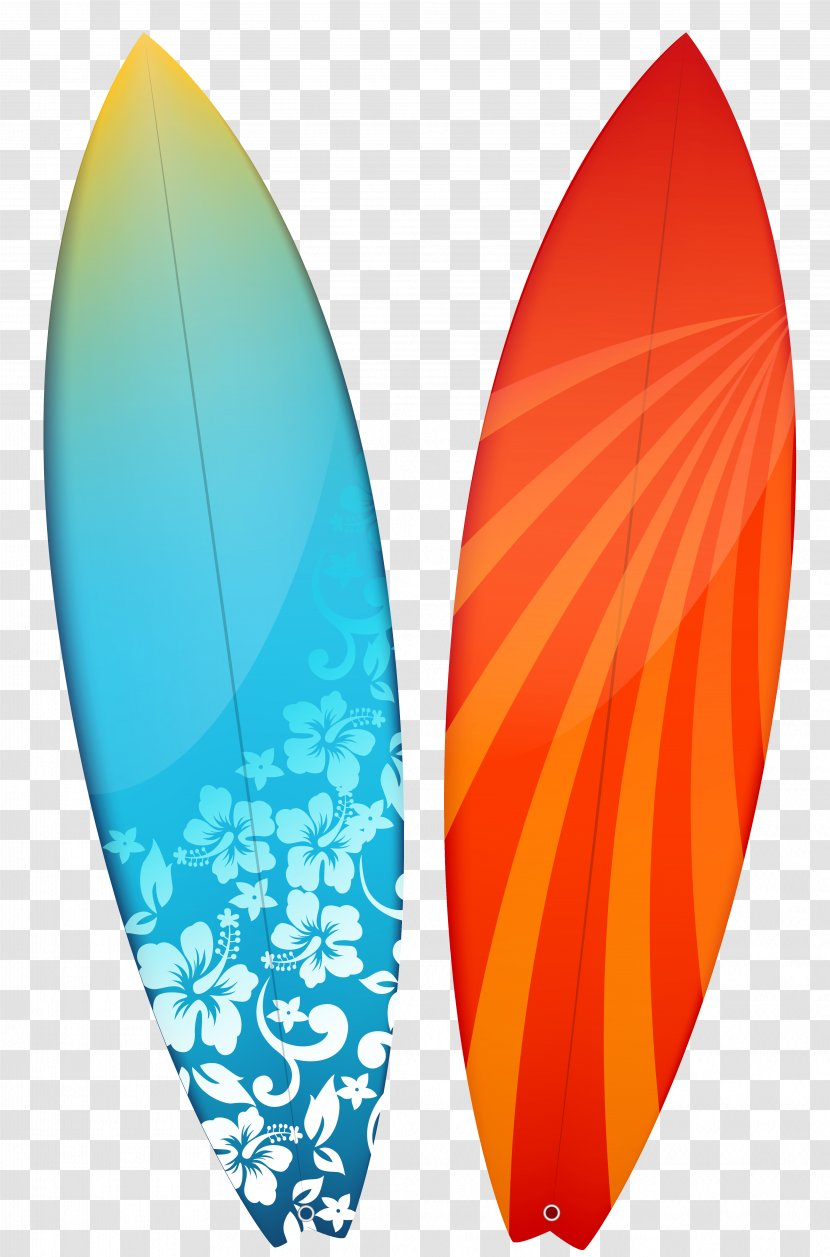 Surfboard Surfing Clip Art - Product Design - Surfboards Clipart Image Transparent PNG