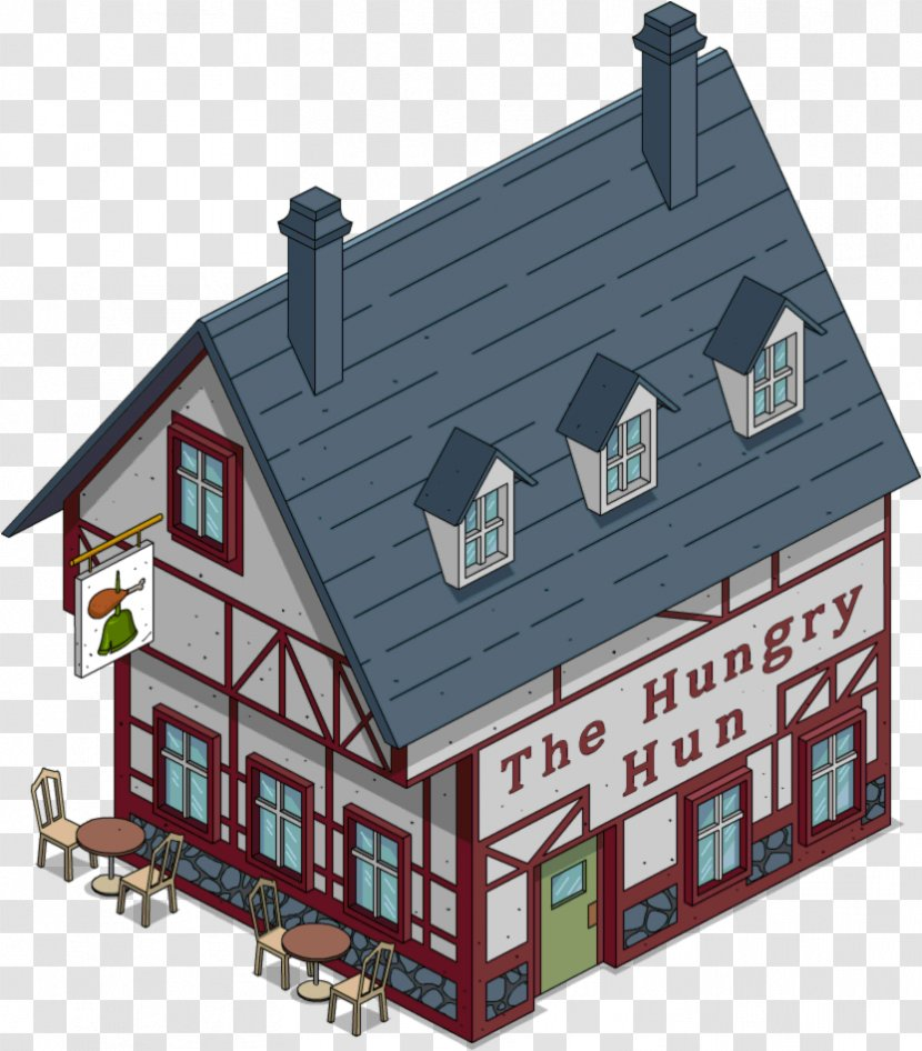 The Simpsons Tapped Out Bart Simpson Mr Burns Marge Building Simpsons Movie Transparent Png