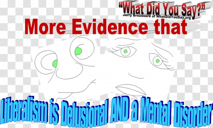 Editorial Cartoon Trump Derangement Syndrome Clip Art - Frame - Evidence Transparent PNG