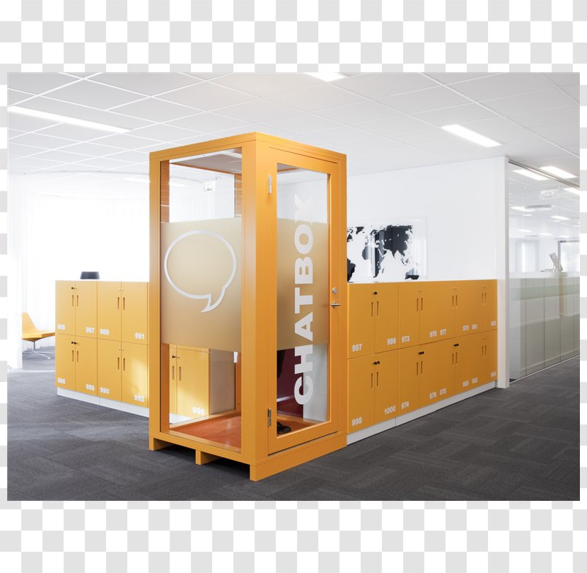 Open Plan Interior Design Services Office Quiet Chat Room - Box Transparent PNG