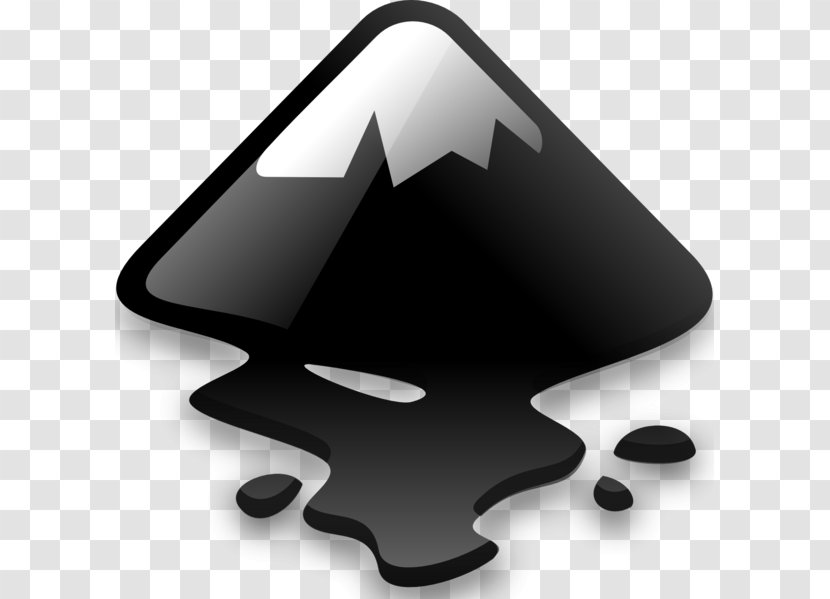 Inkscape Vector Graphics Editor GIMP - Black And White - Logo For ...