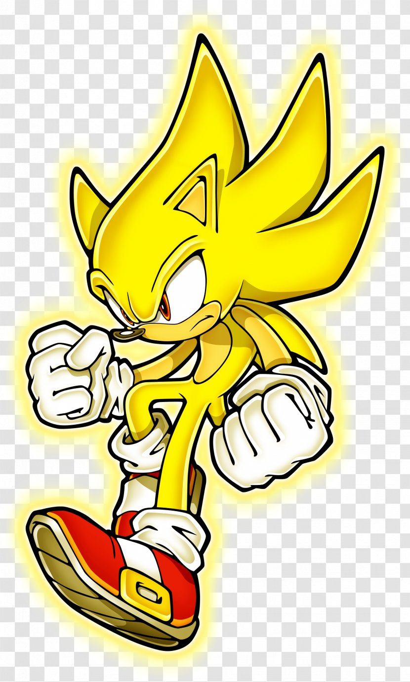 Sonic The Hedgehog Shadow Adventure 2 Battle Super Supersonic Speed Transparent Png