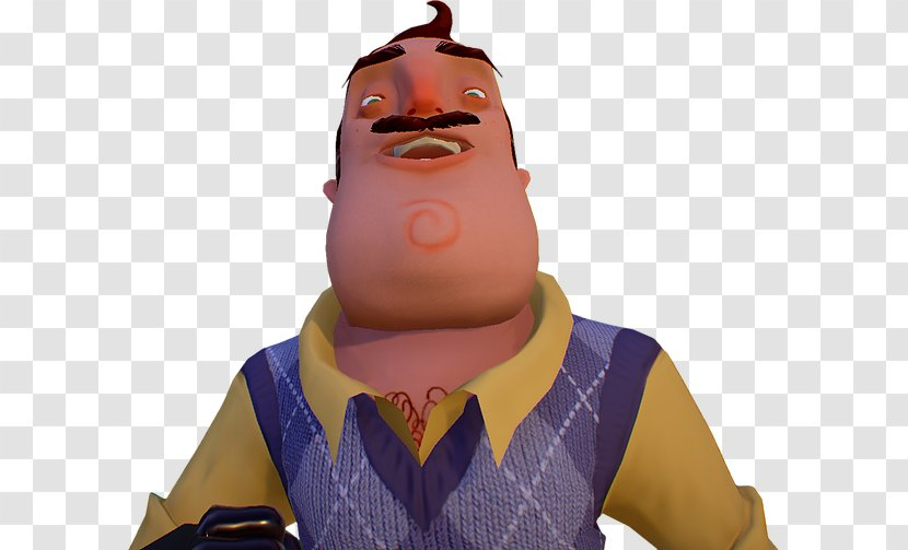 Hello Neighbor Youtube Video Game Mod Db Horror Fiction Youtube Transparent Png
