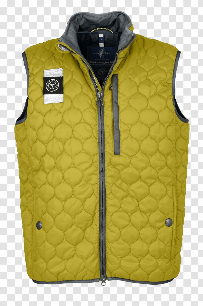 Gilets Jacket Sleeve - Yellow Transparent PNG