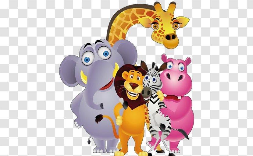 Funny Animal Clip Art - Comics - Animals Jungle Transparent PNG