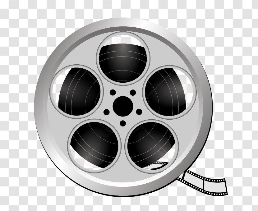 Art Film Reel Cinema Clip - Vector Transparent PNG