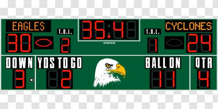 Scoreboard Sports Venue Football Field Hockey - Lacrosse - Soccer Transparent PNG