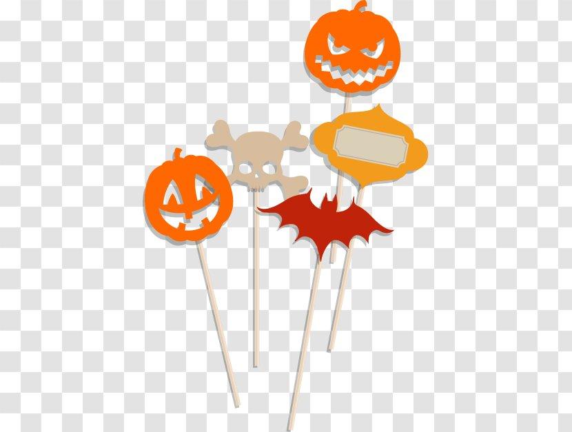 Halloween Bat Pumpkin Maker Clip Art - Elements Transparent PNG