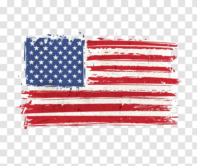 Veterans Day American Flag - Happy 4th Of July - Usa Transparent PNG