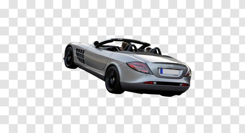Sports Car Mercedes-Benz SLR McLaren - Personal Luxury - Roadster Transparent PNG