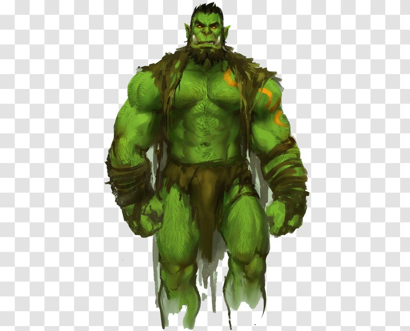 World Of Warcraft Dungeons Dragons Orc Art Video Games Fantastic Transparent Png