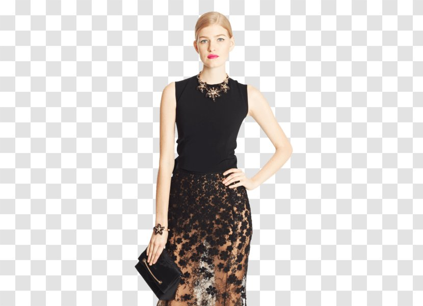Fashion Little Black Dress Clothing Designer Creative Director Oscar De La Renta Transparent Png