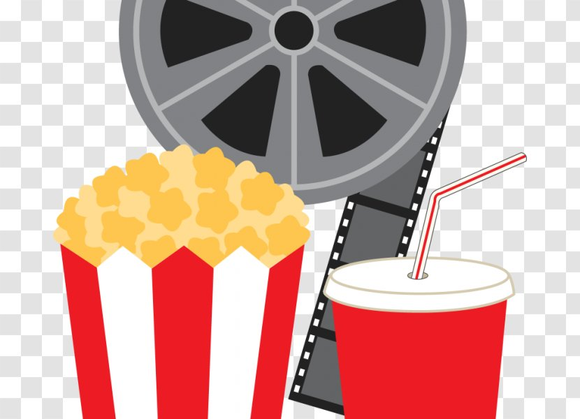 Art Film Reel Cinema Clip - Movie Projector - Popcorn Transparent PNG