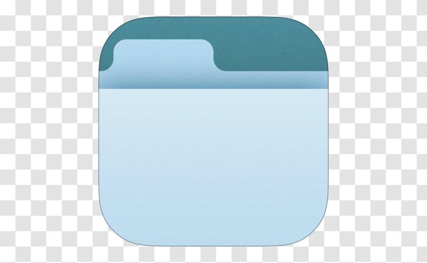 Turquoise Rectangle - Azure - Design Transparent PNG